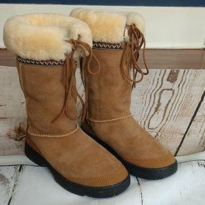 UGG Australia ULTIMATE CUFF Tall Shearling Boots